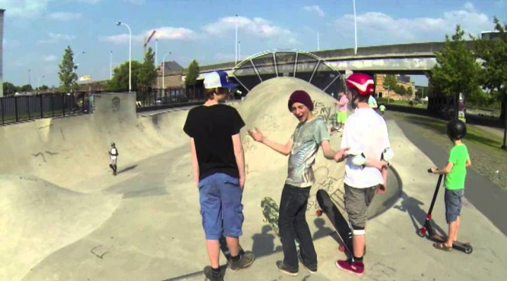 Skate Bowl Spoord noord